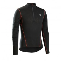 Bontrager B3 1/4 Zip Long Sleeve ondershirt Black XS/S