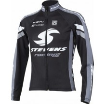 "Stevens jack lange mouw ""CARBON RACING"" black/grey"