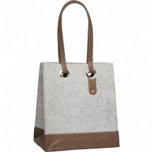 Cortina tas  Minsk Basket Bag felt grey
